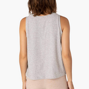 FEATHERWEIGHT BALANCED MUSCLE TANK - SILVER MIST