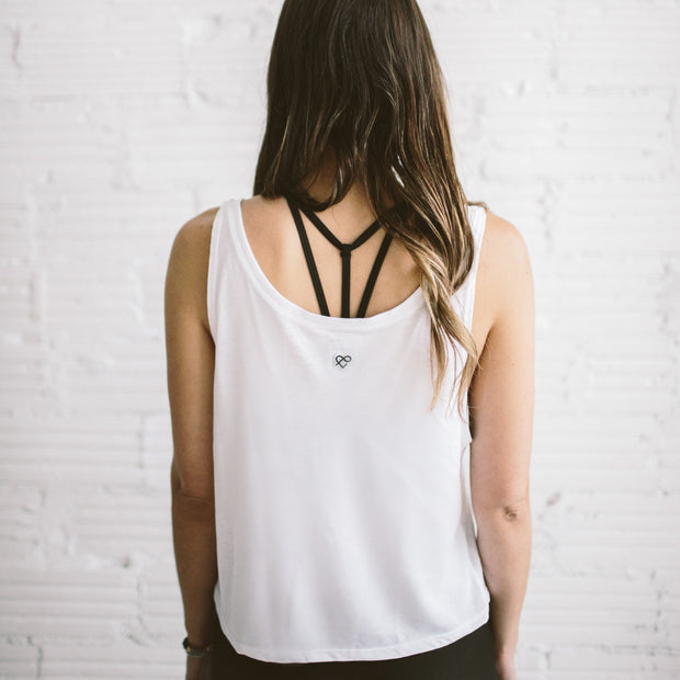 'DIFFERENT  DOESN'T EQUAL WRONG' Alyssa Crop Tank