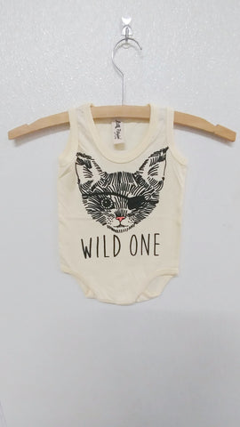 Wild One Pirate Onesie