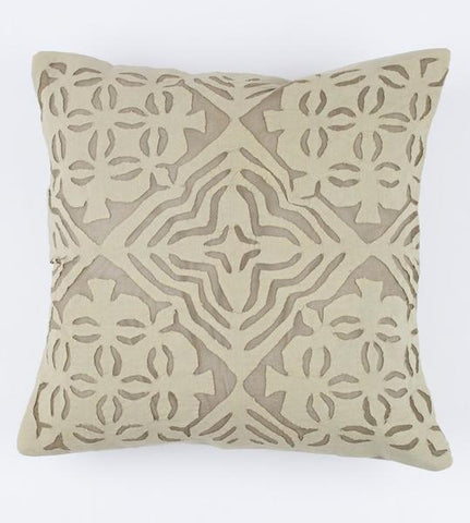 Sage 16x16 Applique Pillow Cover