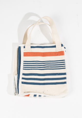 Dhurrie Bag - Striped Tote