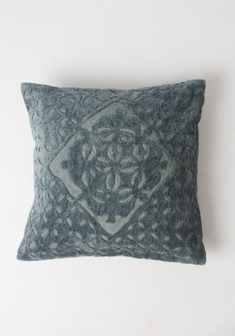 Royal Pillow in Vintage Blue