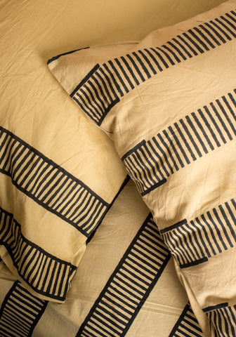 Striped Desert Duvet Set