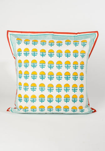 Yellow Blossom Pillow