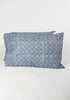 Navy Mosaic Pillow