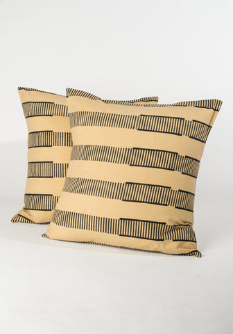 Striped Desert Pillow