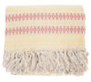 Handmade Moroccan Cotton Throw