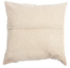 Tan Speckled Wool Pillow Case