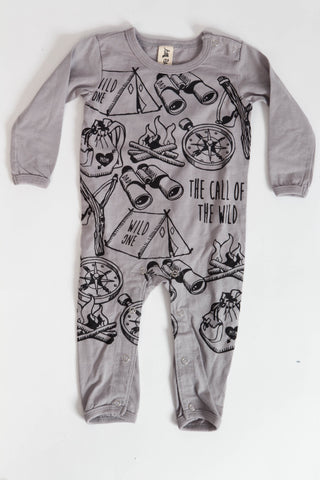 Call Of The Wild One Piece Grey
