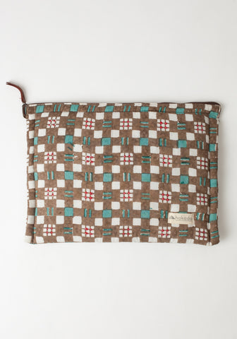 Checkered Laptop Case 11x14