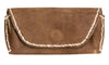 Dark Brown Leather Glasses Case