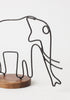 Elephant Figurine - Wire