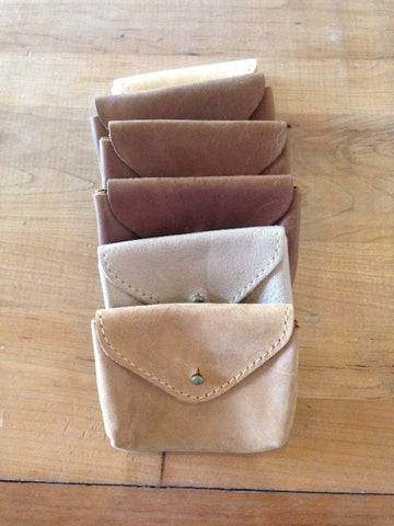 Small Brown Coin Pouch