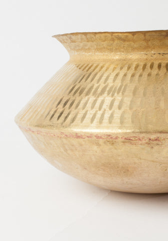 Hammered Bowl - Brass