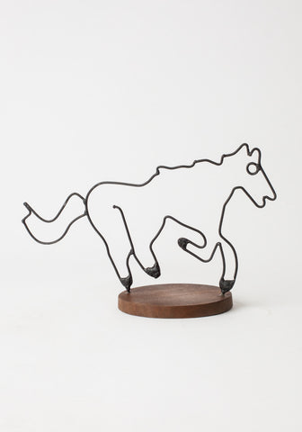 Horse Figurine - Wire
