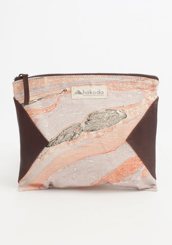 Marble Swirl - Mini Clutch