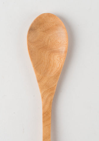 Hand Carved Wooden Japanese Spoon