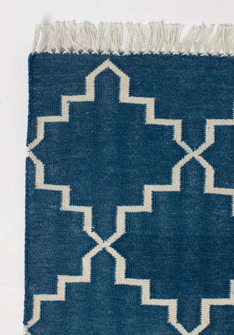 Dhurrie Moroccan Star Rug