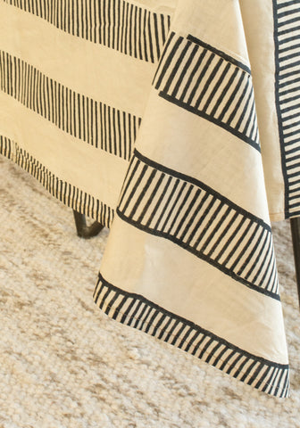 Striped Desert Table Cloth