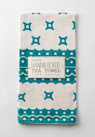 Handblock Tea Towel