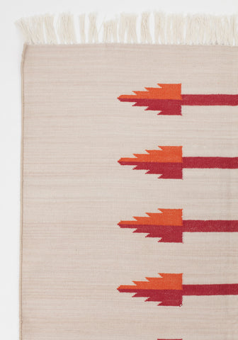 The Arrow Dhurrie Rug
