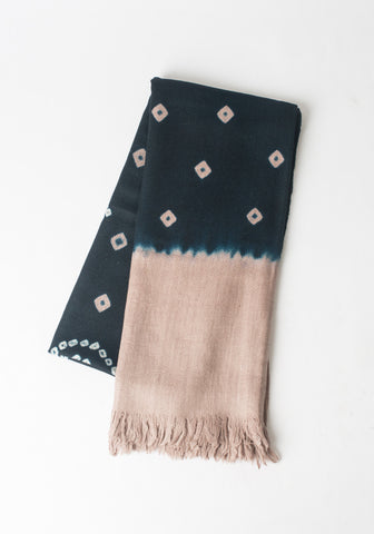 Tie Dye Cashmere Throw