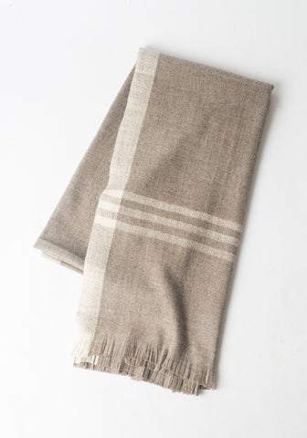 Desert Throw in Striped