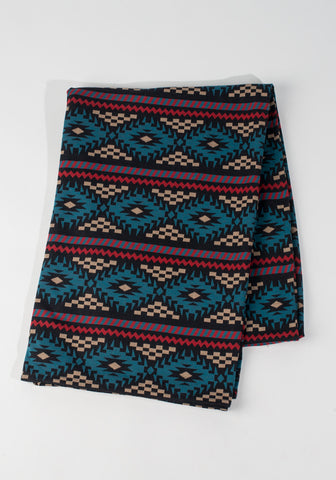 Tribal Geometric Throw