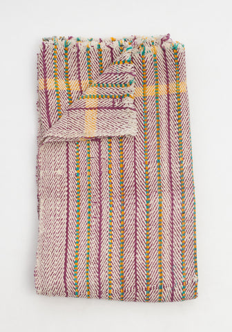 Candy Striped Throw