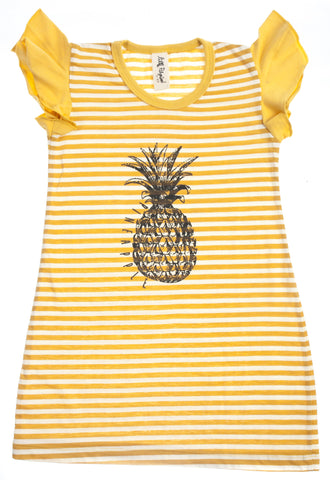 Pineapple Shirt Dress
