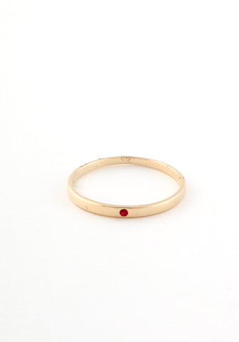 Flush Solitaire Ruby Band
