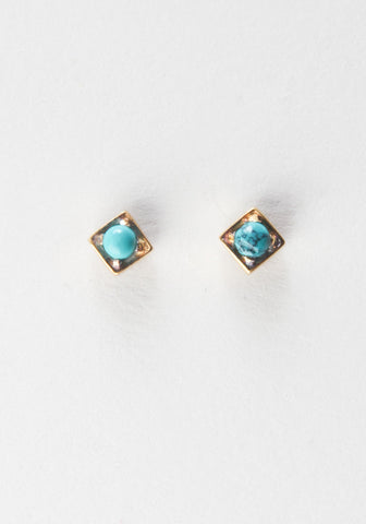 Diamond Frame Stud