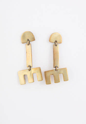 Escalante bar earrings