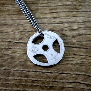 Lifter's Plate Necklace