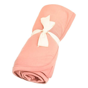 Bamboo Swaddle Blanket, Terracotta
