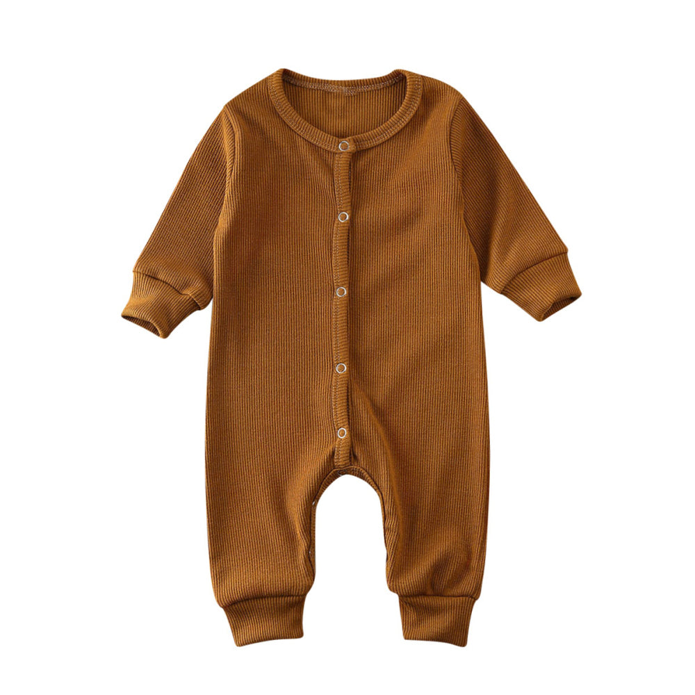 Ribbed Footless Jumper, Copper