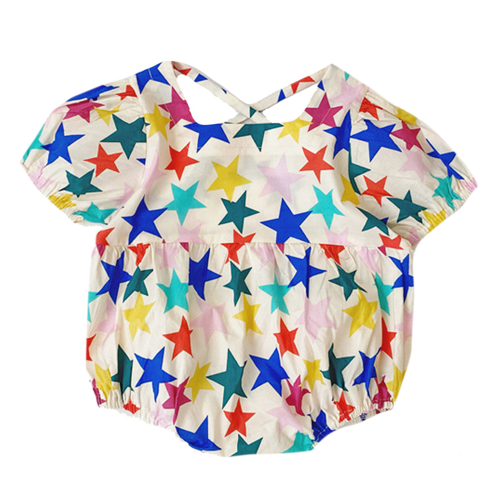 Bubble Romper, Multi Stars