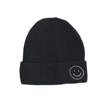 Load image into Gallery viewer, Harlow Knit Beanie, Black