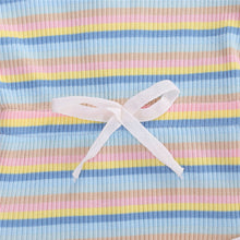 Load image into Gallery viewer, Stripe Playsuit, Pastels