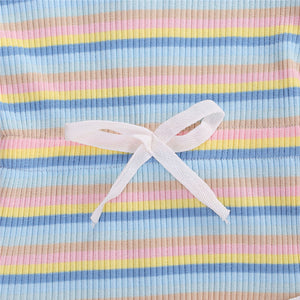 Stripe Playsuit, Pastels