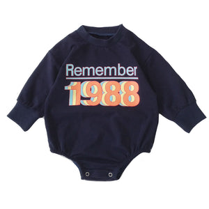 Lounge Romper, Remember 88's Navy