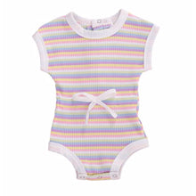 Load image into Gallery viewer, Stripe Playsuit, Passion Pink