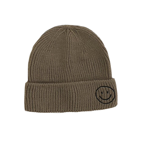 Harlow Knit Beanie, Coffee