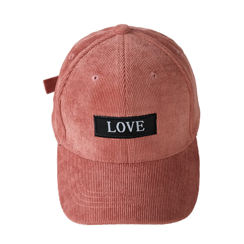 LOVE Baseball Hat, Sandy Red