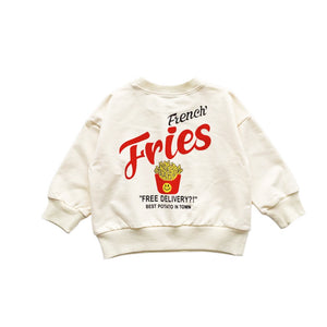 Graphic Sweatshirt, French Fry