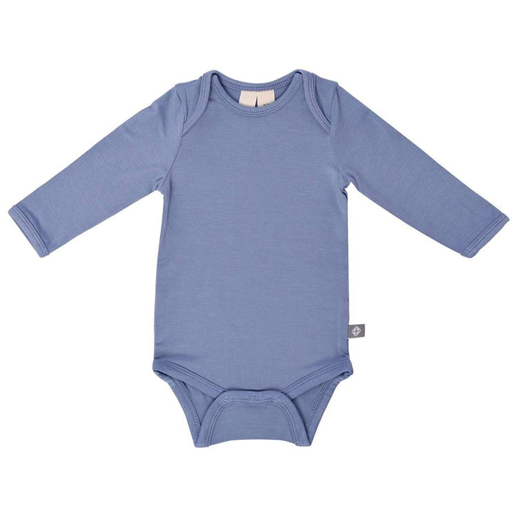 Long Sleeve Bodysuit, Slate