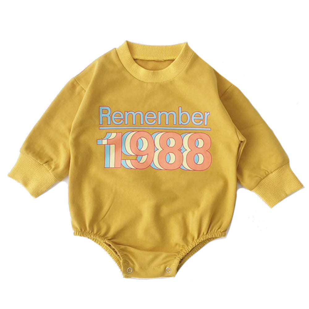 Lounge Romper, Remember 88's Mustard