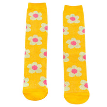 Load image into Gallery viewer, Daisy Socks, Sunshine