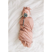 Load image into Gallery viewer, Stretch Swaddle, Dusty Rose