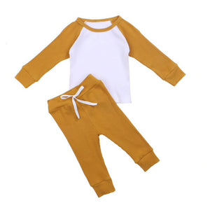 Raglan Lounge Set, Goldenrod